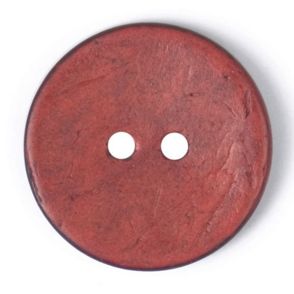 24mm 38L Green Round Coconut Shell Button