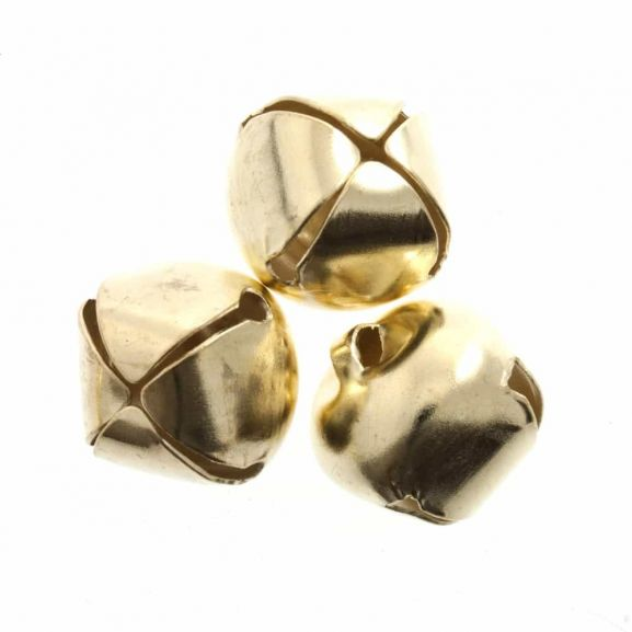 Pack of 9 Silver 10mm Bells