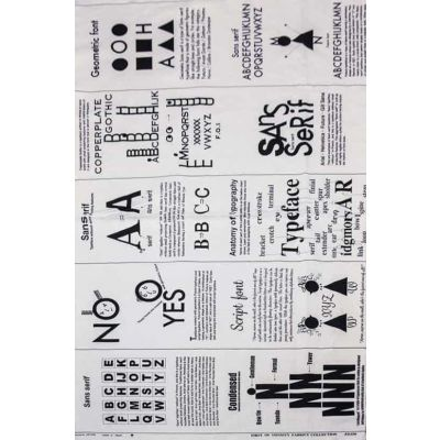 Remnant - Nutex - First Of Infinity - Black & White Script - Panel - 40 x 110cm Miscut