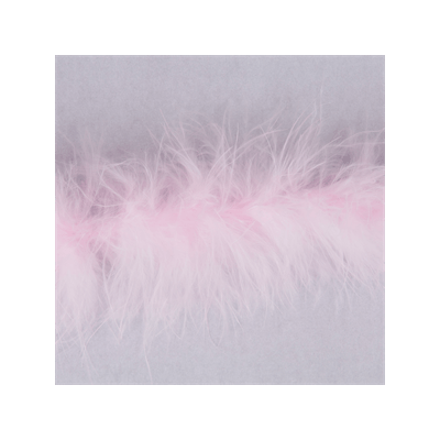Luxury Marabou 4mm Trim Pale Pink