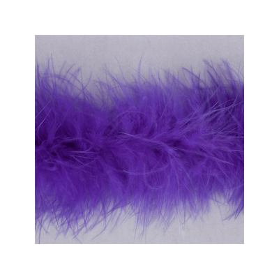 Luxury Marabou 4mm Trim Purple