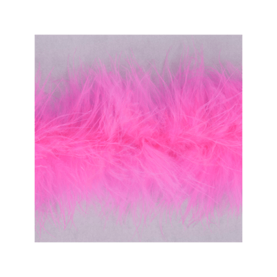 Luxury Marabou 4mm Trim Shocking Pink