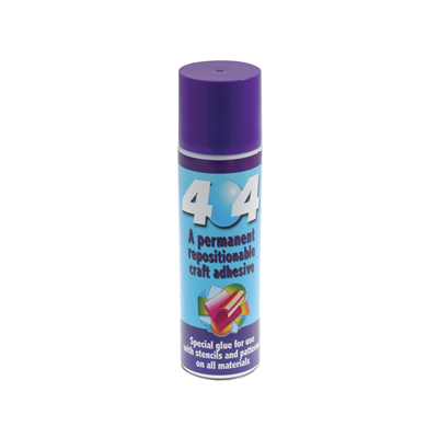 ODIF 404 Permanent Repositionable Adhesive Spray 250ml