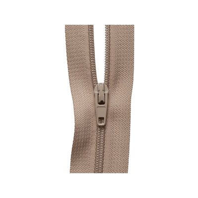 Hemline Continuous Zip - Fawn