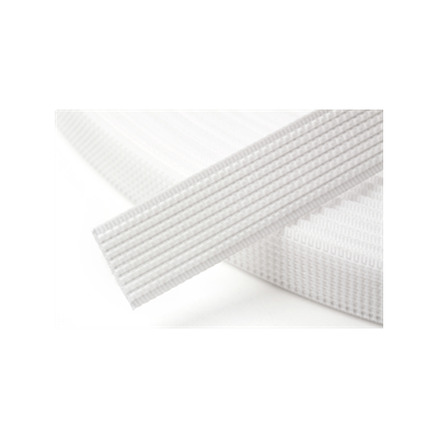 Hemline Uncovered Polyester Boning 12mm Wide - White