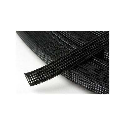Hemline Uncovered Polyester Boning 8mm Wide - Black