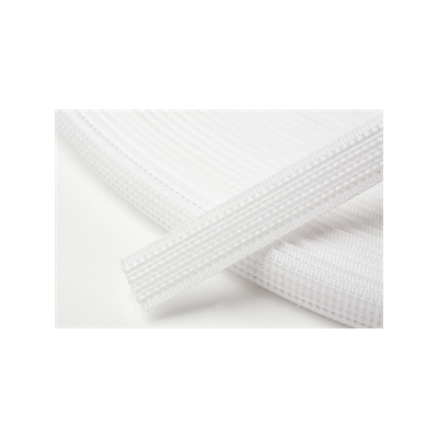Hemline Uncovered Polyester Boning 8mm Wide - White