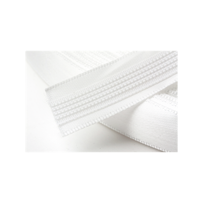 Hemline Satin Covered Polyester Boning 15mm Wide - White