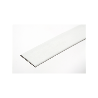 Hemline Plastic Coated Steel Boning 10mm Wide - White
