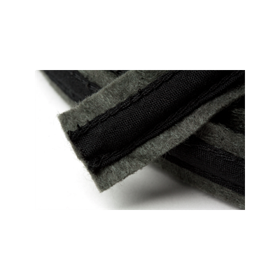 Hemline Felt Covered Boning 18mm Wide - Dark Grey