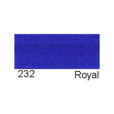 15mm Satin Bias Binding Royal Blue