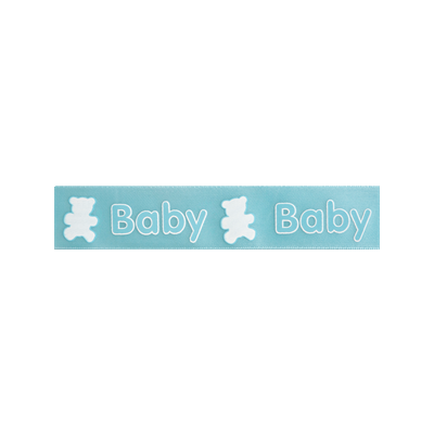 Baby & Teddy 25mm x 3m Reel