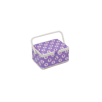 Medium Spotty Cupcake Sewing Basket