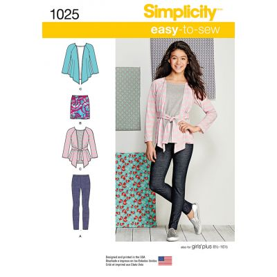 Remnant - Simplicity Pattern - 1025 - AA (chest 27in - 34in) - End of Line