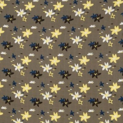 Cotton Double Gauze Fabric - Desert Flowers