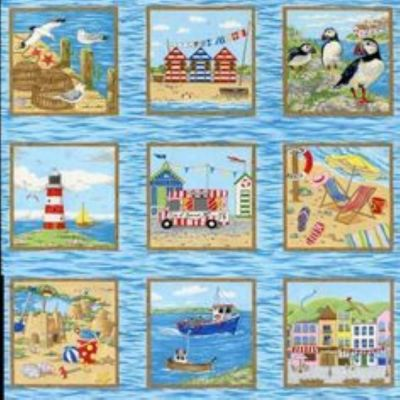 Promenade Squares (Laminated Cotton)