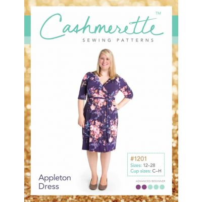 Cashmerette Sewing Patterns -  Appleton Dress Dressmaking Pattern