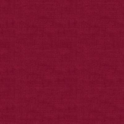 Makower Linen Texture Balmoral Red Cut Length