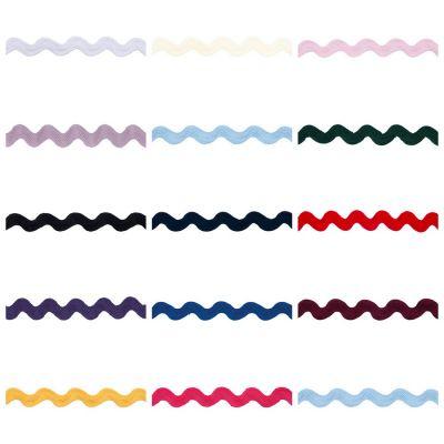 Essential Trimmings 14mm Wide Ric Rac Trim - 14 Colours