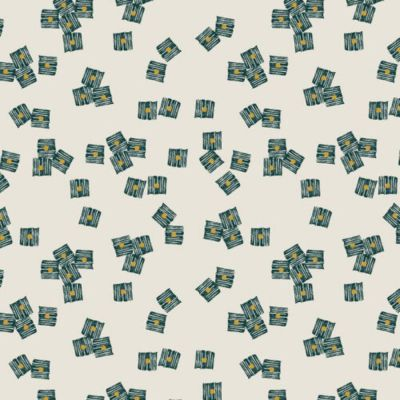 Dashwood - Cotton Linen Blend - Midnight Garden - Cubes