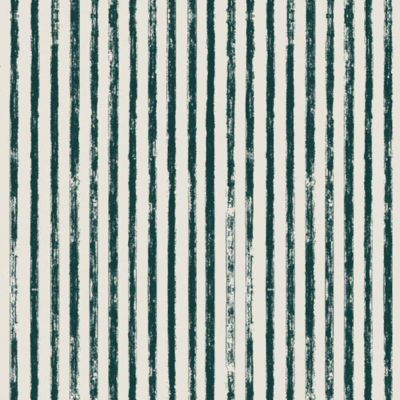 Dashwood - Cotton Linen Blend - Midnight Garden - Stripes