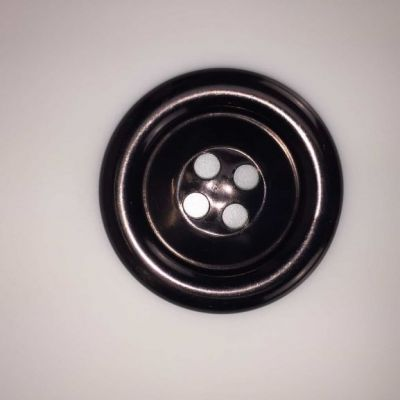 Black Extra Large Clown Buttons Size 100 - 63mm