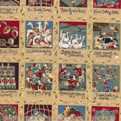 Nutex - 12 Days Of Christmas 60cm Panel