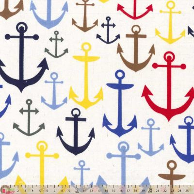 Printed Canvas - Anchors Away