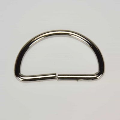 38mm D Ring Nickel