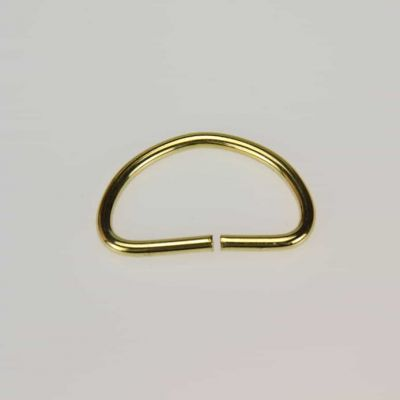 25mm D Ring Brass