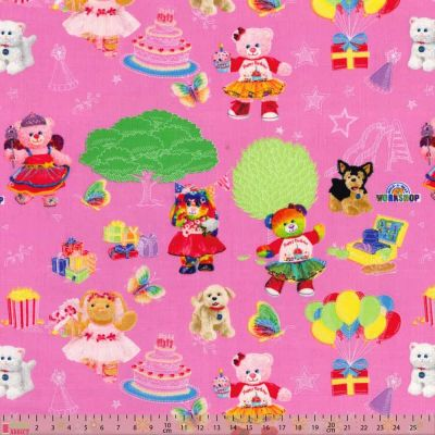 Remnant -Nutex - Build A Bear Workshop - Playground Pink - 30 x 110cm
