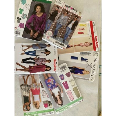 Remnant - 7 x Simplicity Sewing Patterns - H5 (6-14) - End of Line