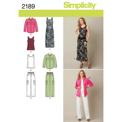 Remnant - Simplicity Pattern - 2189 - BB (20 -28) - End of Line