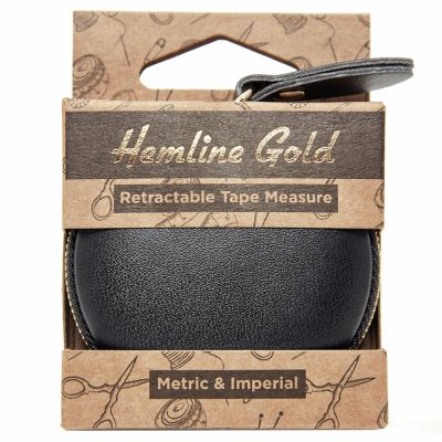 Hemline Gold Premium Retractable Tape Measure - 150cm/60in