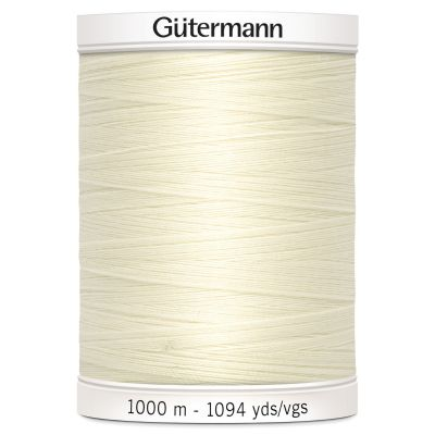 Gutermann 1000m Sew-All Polyester Sewing Thread - Colour 1