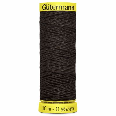Gutermann Elastic Thread 10m Brown 4002