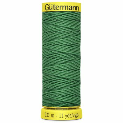 Gutermann Elastic Thread 10m Grass Green 8644