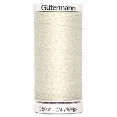 Gutermann 250m Sew-All Polyester Sewing Thread - Colour 1
