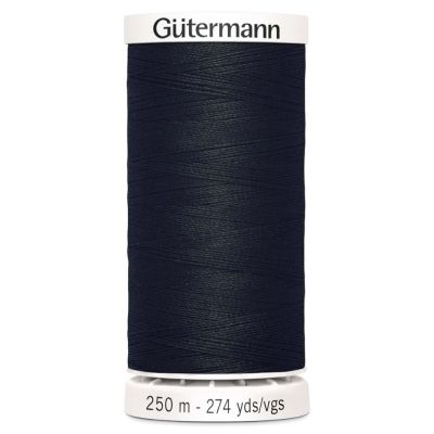 Gutermann 250m Sew-All Polyester Sewing Thread - Colour BLK