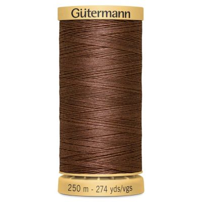 Gutermann Natural Cotton Thread: 250m 2724