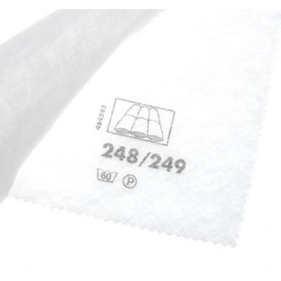 Vilene Sew In Low Loft Volume Fleece 2V249 - White - 150cm