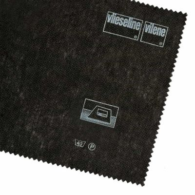 Vilene Interfacing Iron On - Light - H180 / 309 - Charcoal - 1m x 90cm - Per Metre