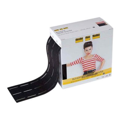 Vilene Waist Shaper Interfacing Iron On - Charcoal - 1m x 9cm