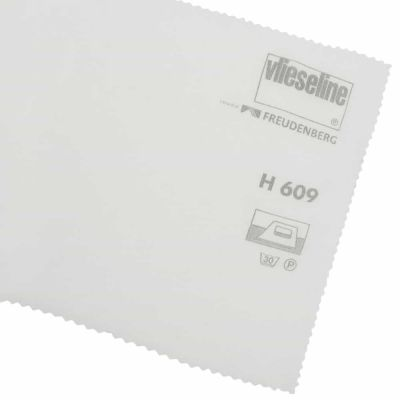 Remnant - Vlieseline / Vilene Iron-On Interlining Fusible Knit - White - 3m x 75cm - Flaw
