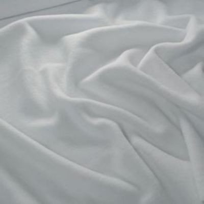 Remnant -White Premium Microfleece - 35 x 150cm - marked