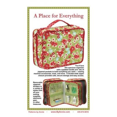 ByAnnie Sewing Pattern -  A Place For Everything Organiser Pattern