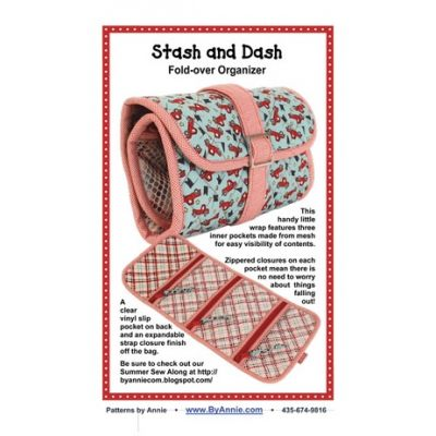 ByAnnie Sewing Pattern -  Stash And Dash Pattern