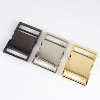 Metal Delrin Side Release Buckle For Bags And Webbing - 38mm - 3 Colours