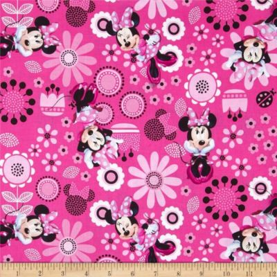 Nutex - Disney Flannel Fabric - Minnie