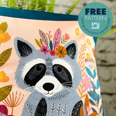 Wild Cushion Cover Pattern - Download Only
